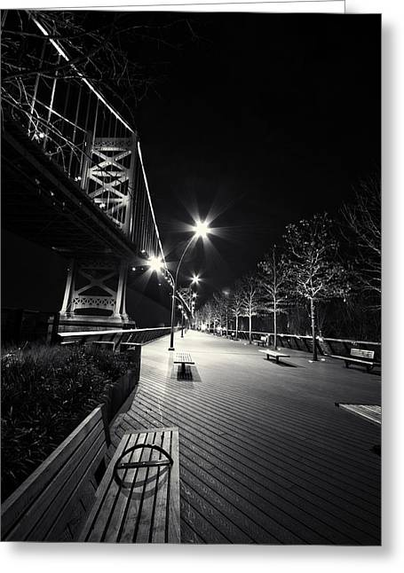 Street Race Greeting Cards - Take the walk. Greeting Card by Rob Dietrich