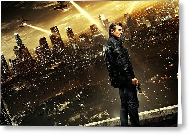 Take Action Greeting Cards - Taken 3 Liam Neeson Greeting Card by Movie Poster Prints