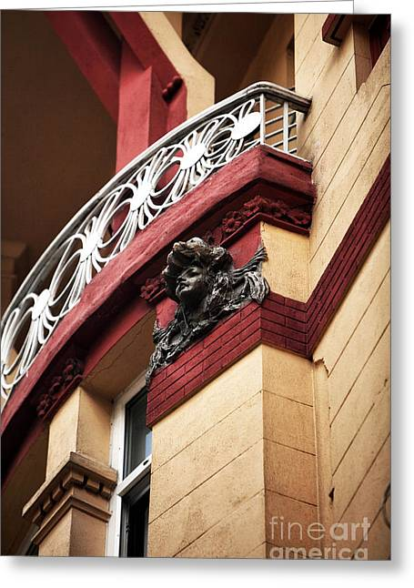Sculpture For Sale Greeting Cards - Taksim Architecture Greeting Card by John Rizzuto
