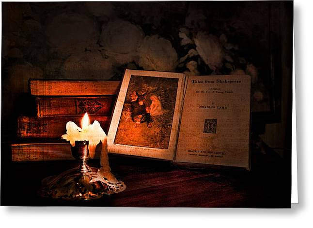TALES FROM SHAKESPEARE Greeting Card by Theresa Tahara