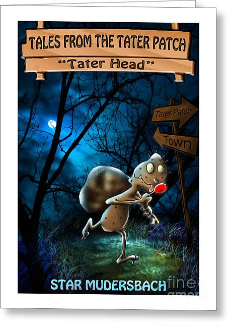 Space Themed Nursery Greeting Cards - Tales From The Tater Patch Greeting Card by Star  Mudersbach