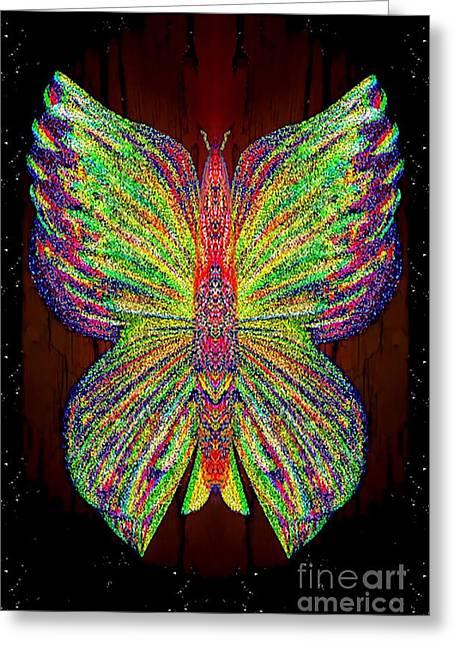 Archangel Ariel Greeting Cards - Talulla Treespeck Greeting Card by Raymel Garcia