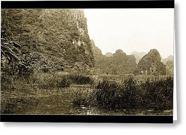 Binh Greeting Cards - Tam Coc No2 Greeting Card by Weston Westmoreland