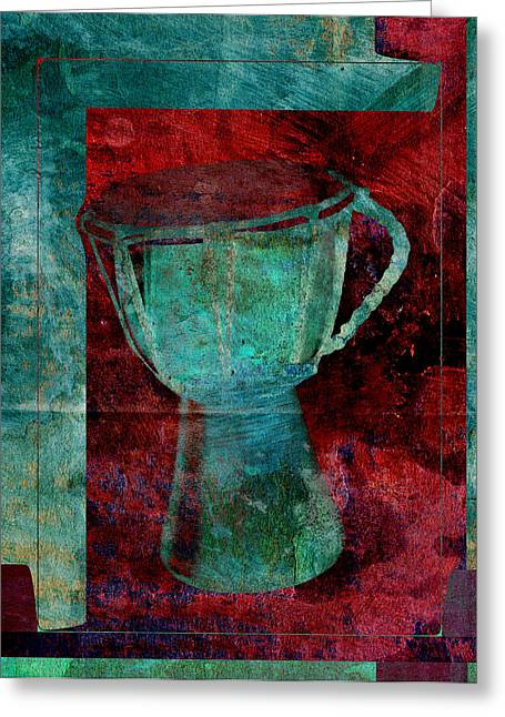 Intruments Greeting Cards - Tam Tam Djembe - s22c Greeting Card by Variance Collections