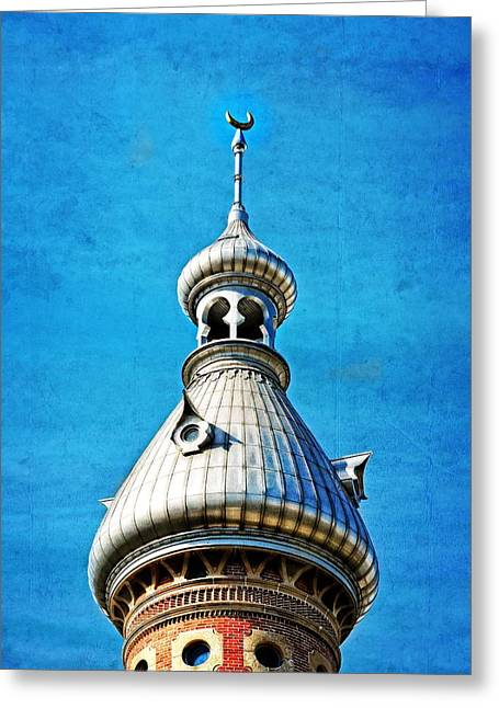 Tampa Beauty - University Of Tampa Photography By Sharon Cummings Greeting Card by Sharon Cummings