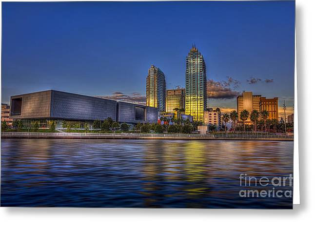 Hillsborough River Greeting Cards - Tampa Museum Greeting Card by Marvin Spates
