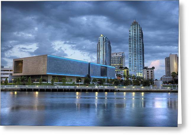 St Petersburg Florida Greeting Cards - Tampa Museum of Art Greeting Card by Al Hurley