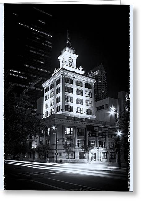 City Hall Greeting Cards - Tampas Old City Hall Greeting Card by Marvin Spates
