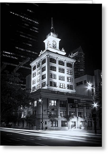 Tampa's Old City Hall Greeting Card by Marvin Spates