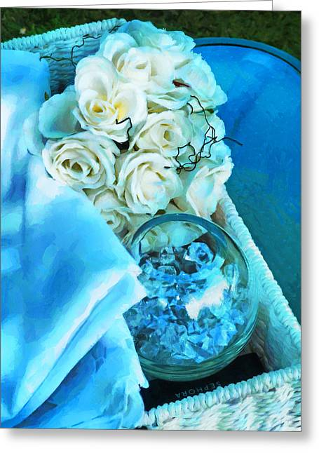 Tangled Up In Blue Greeting Cards - Tangled Up In Blue Greeting Card by Steve Taylor