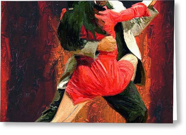 Tango 05 Greeting Card by James Shepherd