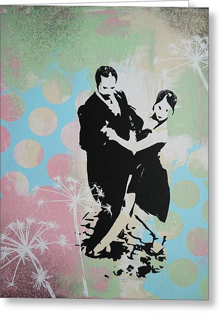 Tango Argentino Greeting Card by Bitten Kari