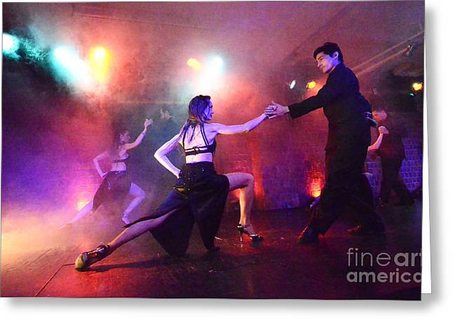Buenos Aires Art Greeting Cards - Tango Buenos Aires Argentina 2 Greeting Card by Bob Christopher