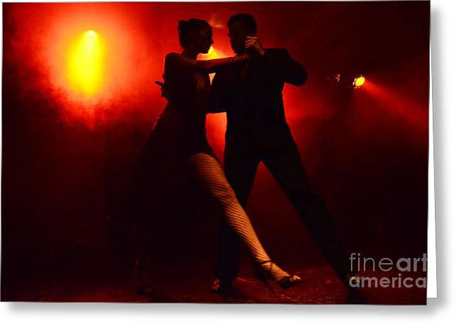 Latin Dance Greeting Cards - Tango Buenos Aires Argentina 4 Greeting Card by Bob Christopher