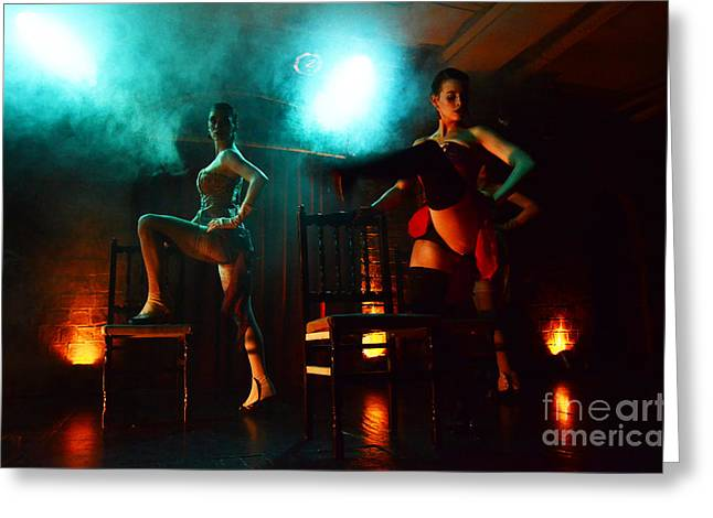 Latin Dance Greeting Cards - Tango Buenos Aires Argentina 5 Greeting Card by Bob Christopher