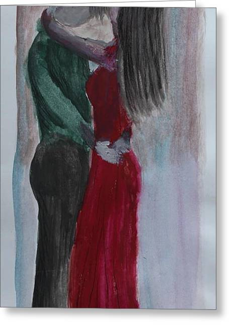 First Love Greeting Cards - Tango Greeting Card by David Cardwell