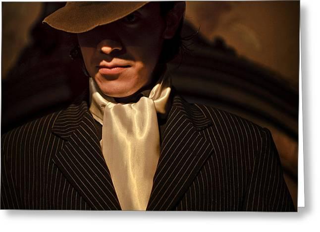 Tango - El Hombre Greeting Card by Michel Verhoef