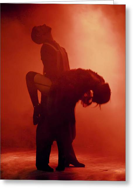 Steven Boone Greeting Cards - Tango Passion Greeting Card by Steven Boone