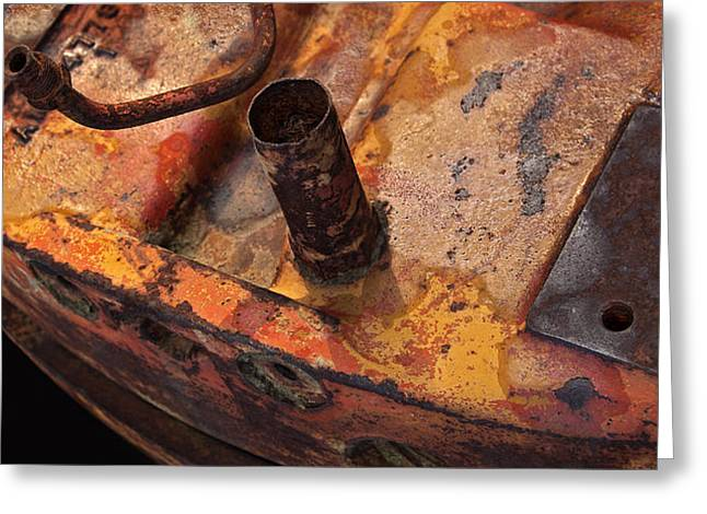 Brass Fittings Greeting Cards - Tank Greeting Card by Murray Bloom