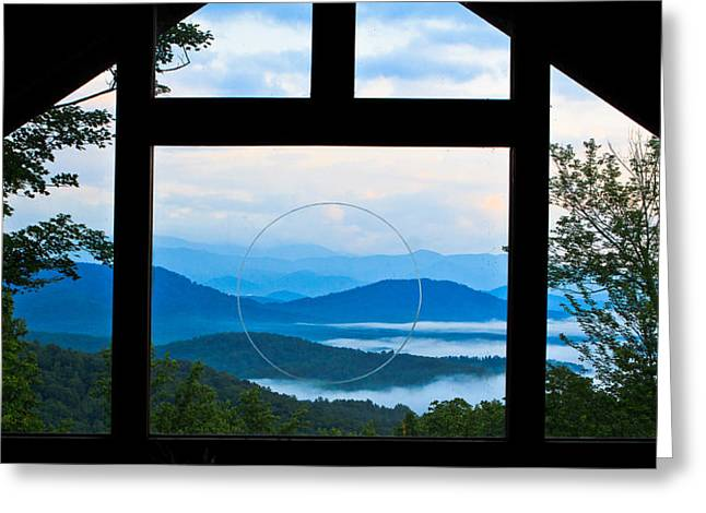 Asheville Nc Greeting Cards - Tao Greeting Card by Mela Luna