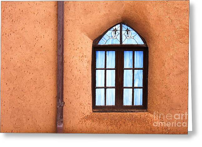 Taos Church 2 Greeting Card by Kathlene Pizzoferrato