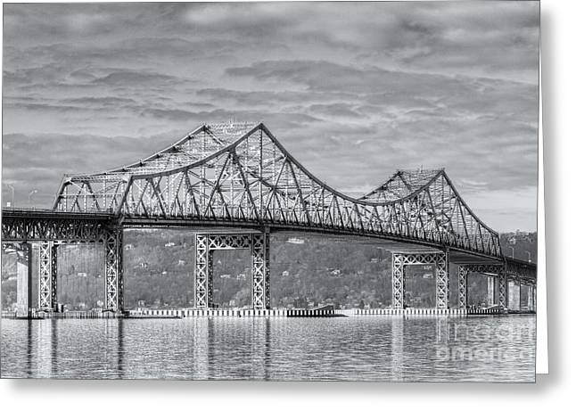 Westchester County Greeting Cards - Tappan Zee Bridge IV Greeting Card by Clarence Holmes