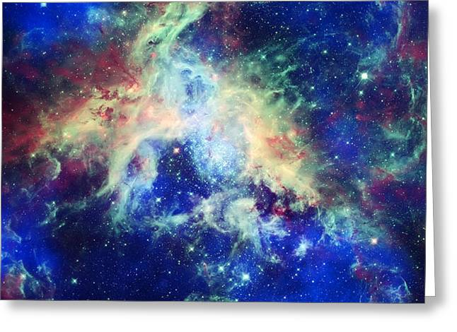 Tarantula Nebula 4 Greeting Card by The  Vault - Jennifer Rondinelli Reilly