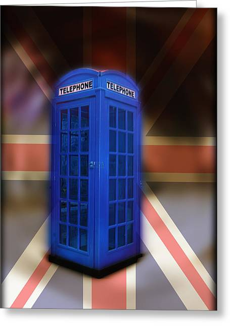 Tardis Greeting Card by Bill Cannon