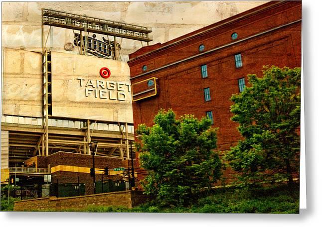 Minnesota Photo Greeting Cards - Target Field Home of the Minnesota Twins Greeting Card by Susan Stone