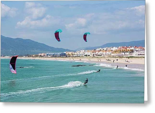 Tarifa, Cadiz Province, Spain Greeting Card by Ken Welsh