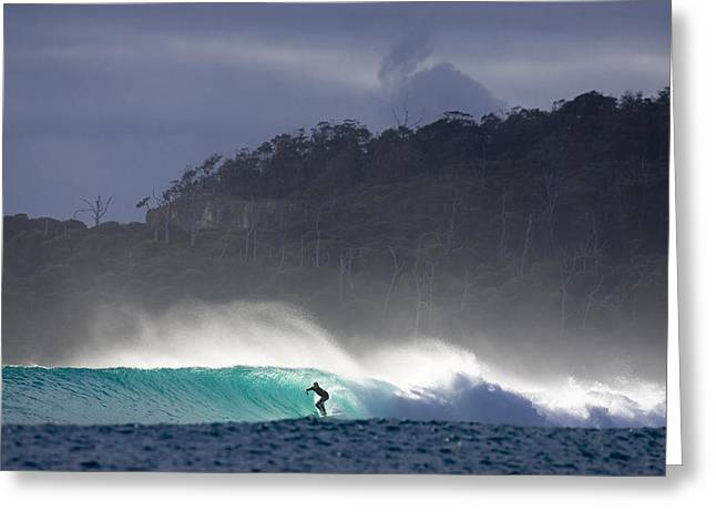 Tasmania Dream Greeting Card by Sean Davey