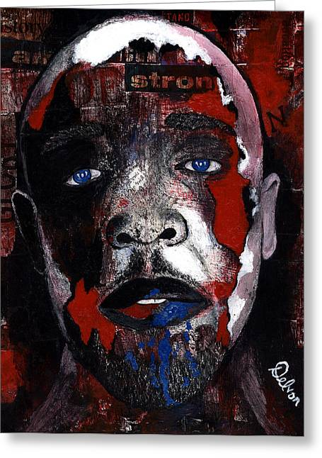 Civil Rights Mixed Media Greeting Cards - Taste of Freedom Greeting Card by Delvon