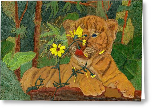 Taste Of Summer Greeting Card by James McGarry Leather Artist