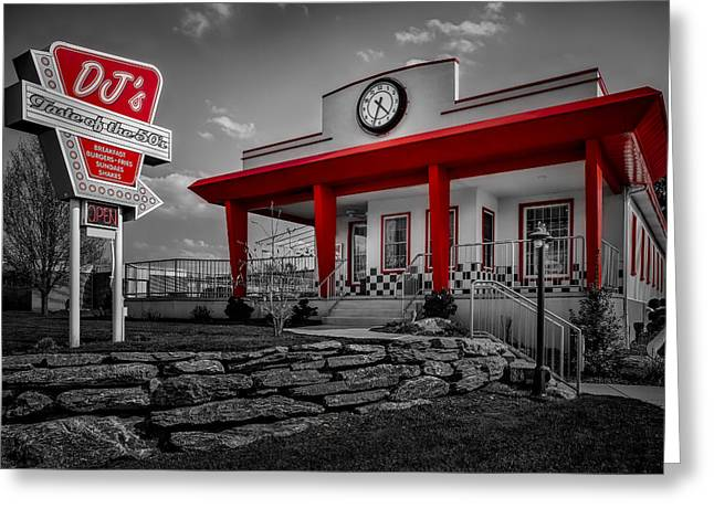 Take-out Photographs Greeting Cards - Taste Of The Fifties Greeting Card by Susan Candelario