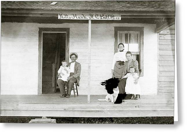 Tate Family Greeting Card by Library Of Congress