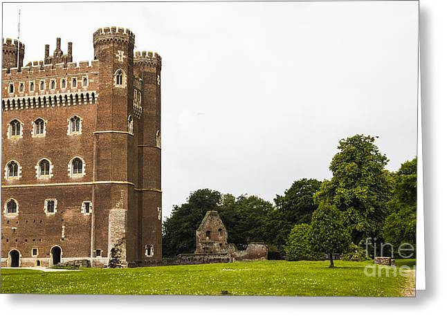 Recently Sold -  - Beautiful Scenery Greeting Cards - Tattershall Castle II Greeting Card by Gemma Knight