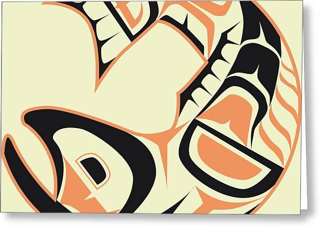 Fish Digital Art Greeting Cards - Tattoo Art Print Review Greeting Card by Cruz Fine Art