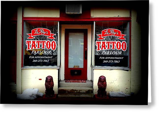 Tattoo Culture Greeting Cards - Tattoo Greeting Card by Michael L Kimble
