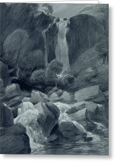 Rapid Paintings Greeting Cards - Taylor Ghyll Greeting Card by John Constable