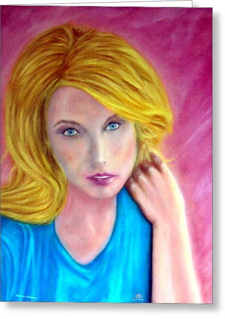 Taylor Swift Paintings Greeting Cards - Taylor Swift Greeting Card by Dylan Williams