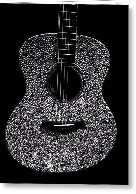Nashville Tennessee Greeting Cards - Taylor Swifts Guitar Greeting Card by Dan Sproul