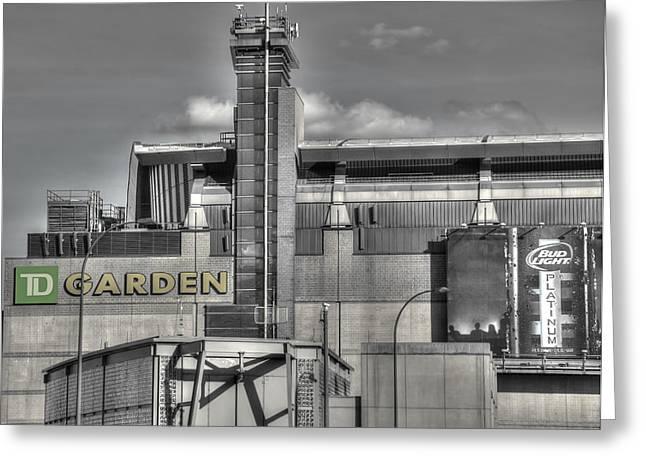 Td Garden Greeting Cards - TD Garden - Boston Greeting Card by Joann Vitali