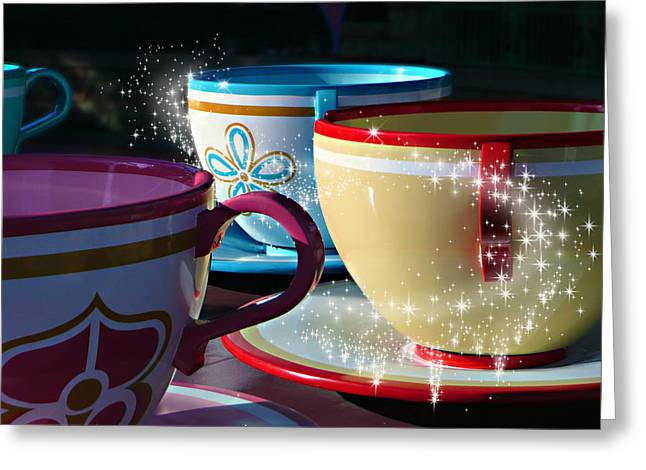 Tea For You Greeting Card by Timothy Ramos