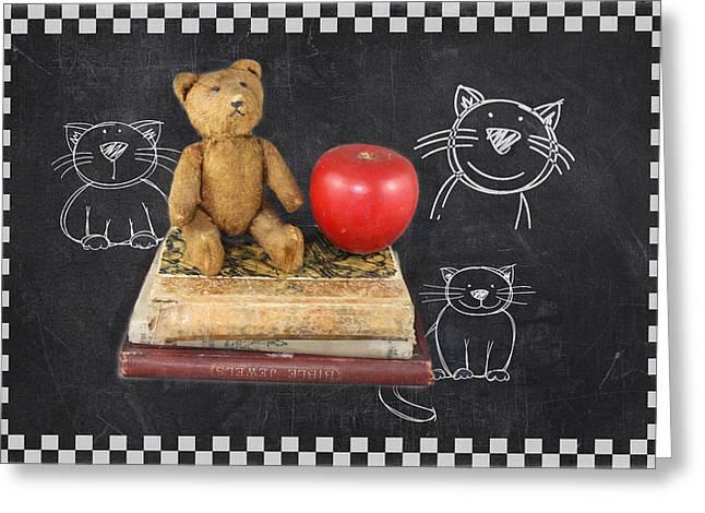 First-class Digital Art Greeting Cards - Teachers Pet Greeting Card by Terry Fleckney
