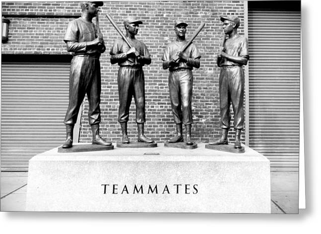 Teammates Greeting Card by Greg Fortier