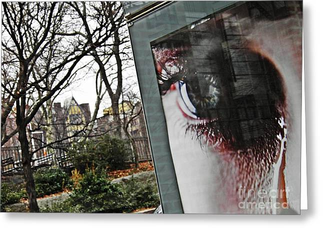Washington Heights Greeting Cards - Tears at Bennett Park Greeting Card by Sarah Loft