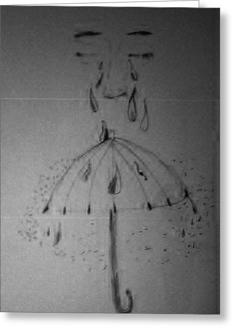 Tears From Above Greeting Card by Jesse Johnson