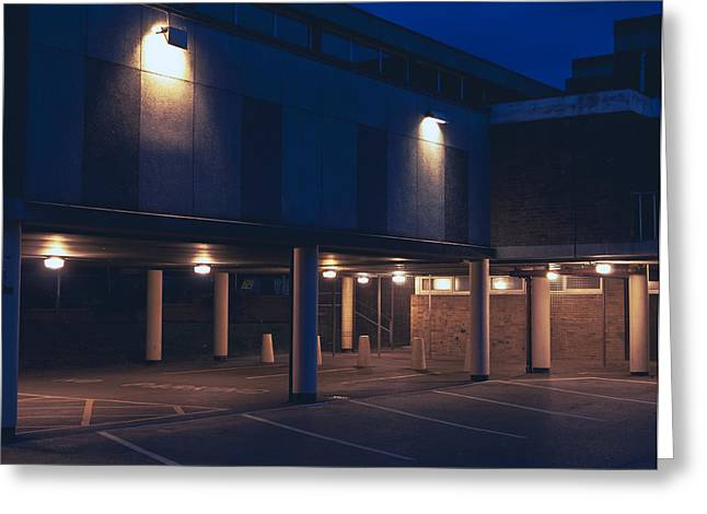 Forecourt Greeting Cards - Technical Greeting Card by Nick Barkworth