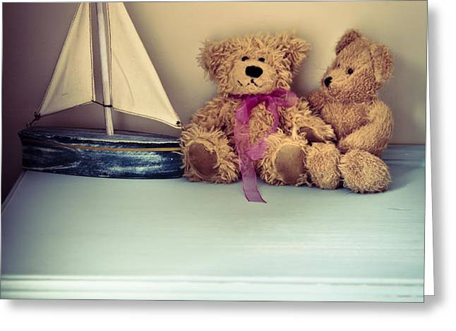 Teddy Bears Greeting Card by Jan Bickerton