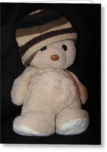 Button Nose Greeting Cards - Teddy Wants To Hug You Greeting Card by Catherine Ali